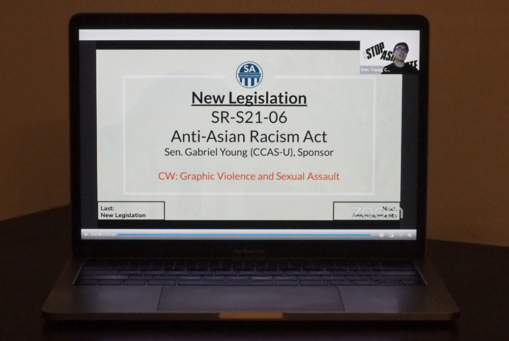 www.gwhatchet.com: SA Senate calls for more support for Asian American community