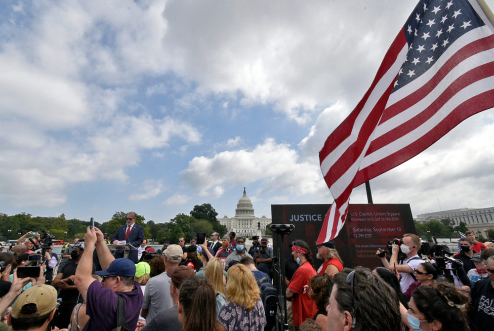 Hundreds gather for protests tied to Jan. 6 insurrection – The GW Hatchet